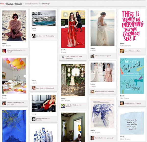 Pinterest模式