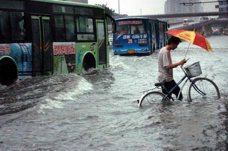 郑州大雨积水