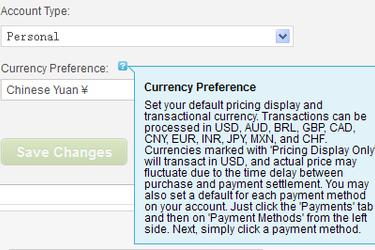 Godaddy货币种类可设置人民币 产品将直接显示人民币价格