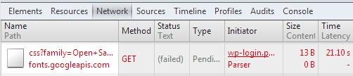 解决 Google Fonts 导致 WordPress 速度变慢的问题