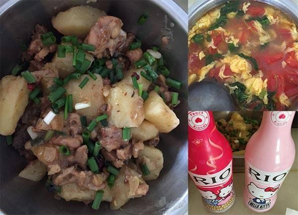 土豆焖鸡腿_成品